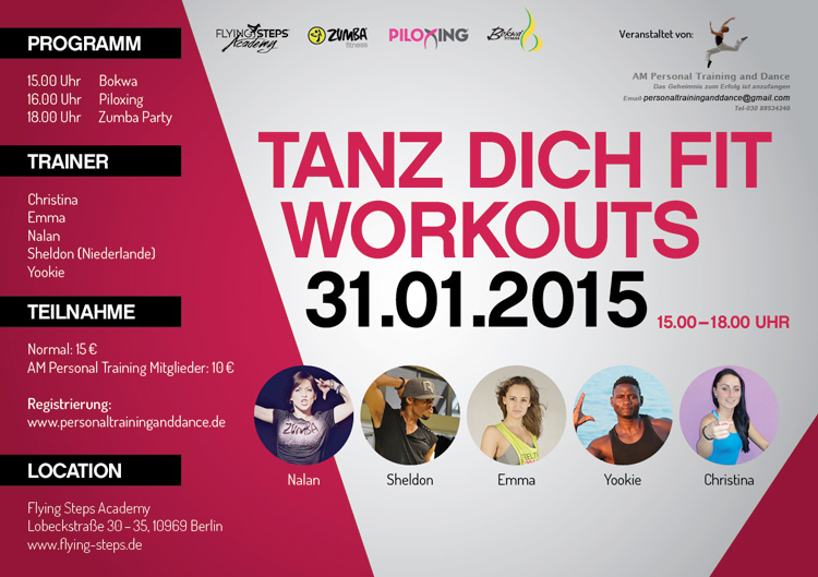 TANZ DICH FIT WORKOUTS